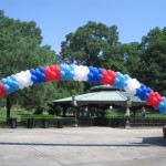 Balloon Arch in park
